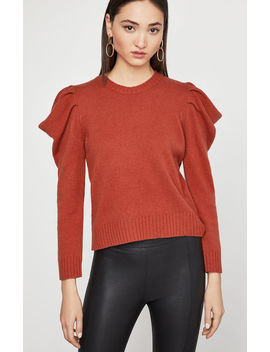 Draped Sleeve Sweater by Bcbgmaxazria
