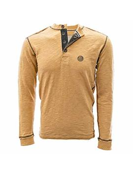 Nhl Mens Crush Shadow Text Henley by Amazon