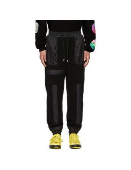 Black 90's Bondage Lounge Pants by 99% Is