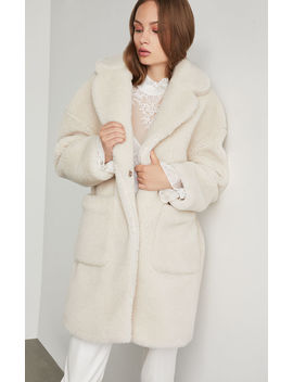 Willow Patch Pocket Coat by Bcbgmaxazria