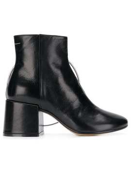 Ring Detail Ankle Boots by Mm6 Maison Margiela