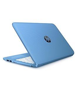Hp Stream 11 Y000na 11.6 Inch Laptop (Aqua Blue)   (Intel Celeron N3060, 2 Gb Ram, 32 Gb E Mmc, Office 365, 1 Tb One Drive Cloud Storage, 1 Year Free Subscription, Windows 10) by Hp
