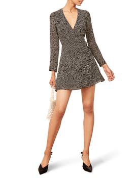 Gjelina Wrap Style Minidress by Reformation