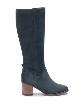 Nicola Waterproof Suede Knee High Boot by Blondo