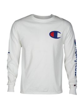Champion Graphic Long Sleeve T Shirt by The North Face