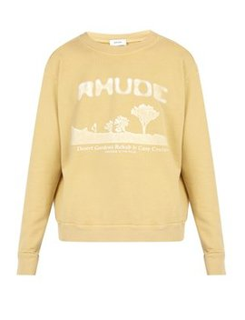 Desert Gardens Cotton Sweatshirt by Rhude
