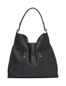 Trigger Pebbled Leather Hobo by Botkier