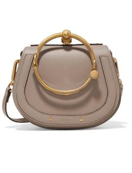 Nile Beige Leather Cross Body Bag by Chloé