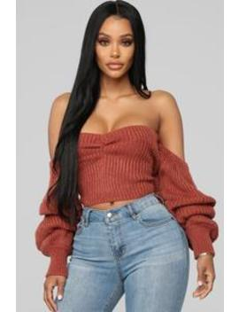 Sugar Sweet Sweater   Clay by Fashion Nova