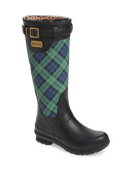 Pendleton Heritage Black Watch Tartan Tall Waterproof Boot by Pendleton Boot