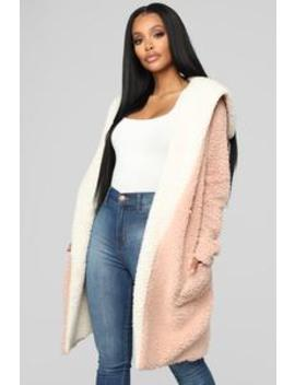 Leonora Jacket   Rose by Fashion Nova