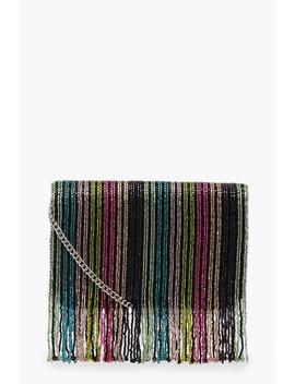 Rainbow Bead Cross Body by Boohoo