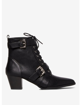 Black 'amaddox' Ankle Boots by Dorothy Perkins