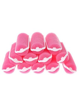 Thobu 12 Pcs Magic Sponge Foam Cushion Hair Styling Rollers Curlers Twist Tool Pink by Thobu