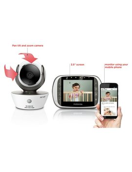 Motorola Mbp853 Connected Baby Monitor by Argos