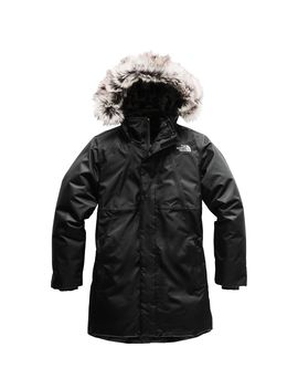 Arctic Swirl Hooded Down Jacket   Girls' by The North Face
