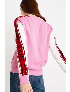 Tommy Jeans Colourblock Stripe Jumper by Tommy Jeans
