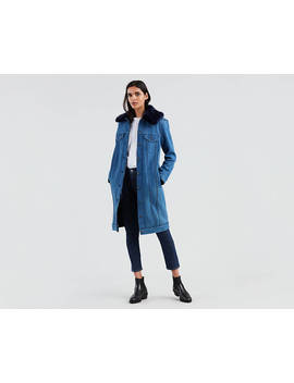 Levi's® Made & Crafted® Trucker Trench Jacket by Levi's