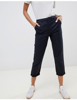 Asos Design Chino Pants In Navy by Asos