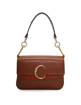 Brown Small C Double Carry Bag by ChloÉ