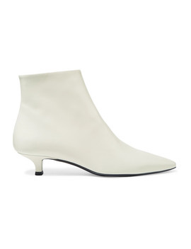 Coco Leather Ankle Boots by The Row