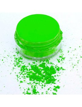 Electrified   Neon Green Uv Active Pigment For Special Fx Nail Art Resin Crafts Soap Making And Halloween Black Light Parties Craft Supplies by Etsy