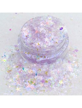 Hocus Pocus   Fine Purple Mylar Flake And Iridescent Star Cosmetic Glitter Mix For Festival & Creative Makeup Slime And  Craft Supplies by Etsy