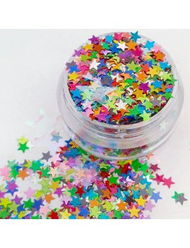 Seeing Starz   Star Shaped Holographic Rainbow Cosmetic Body & Face Glitter For Festival And Creative Makeup Slime And  Craft Supplies by Etsy