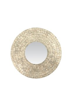 Meigs Traditional Round Wall Mirror by Bungalow Rose