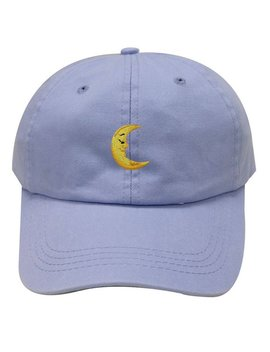 Capsule Design Moon Cotton Baseball Dad Caps Sky by Etsy
