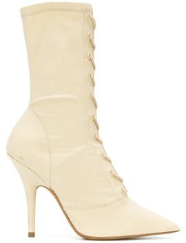 Season 6 Lace Up Ankle Boots by Yeezy