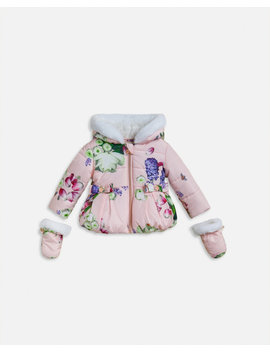 Kensington Floral Coat by Ted Baker