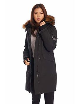 Alpine North Womens Vegan Down Long Parka Winter Jacket by Alpine+North