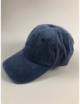 Unisex Blue Denim Dad Cap Baseball Hat Plain Blank Washed Distressed Low Profile Twill Cotton by Etsy