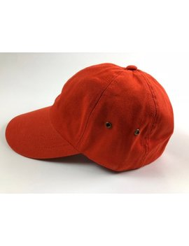 Unisex Orange Dad Cap Baseball Hat Plain Blank Low Profile Twill Cotton by Etsy