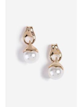 **Mini Pearl Drop Earrings by Topshop
