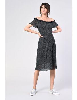 **Spot Bardot Midi Dress By Glamorous by Topshop