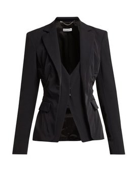 Fossanova Single Breasted Cady Blazer by Altuzarra