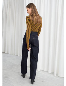 Fitted Ribbed Turtleneck by & Other Stories