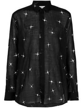 'shooting Star' Hemd by Saint Laurent