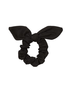 Black Bow Scrunchie by Sportsgirl