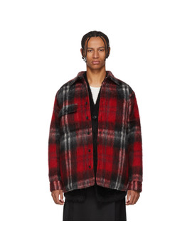 Red Check Woodhacker Jacket by Bless