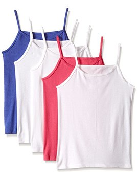 Fruit Of The Loom Girls' 5pk Assorted Cami by Fruit+Of+The+Loom