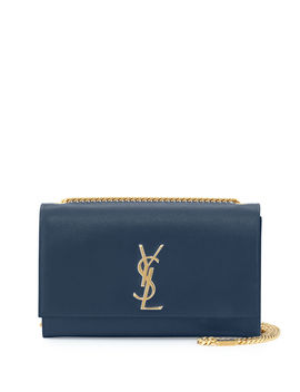 Monogram Ysl Medium Calfskin Crossbody Bag by Saint Laurent
