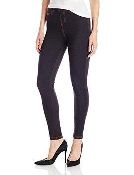 No Nonsense Women's Denim Leggings With Pockets by No+Nonsense