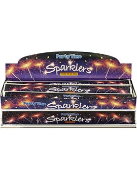 Giant 40cm Party Time Sparkler   Pack Of 30 by Lsf