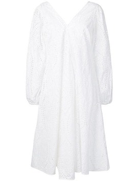 Broderie Anglaise Dress by Ganni