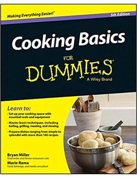 Cooking Basics For Dummies by Marie Rama