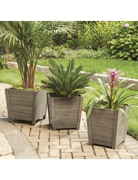 Better Homes And Gardens Cane Bay Outdoor Planter   Large by Better Homes & Gardens