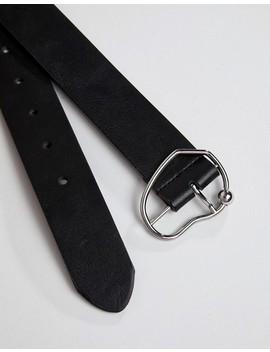Asos Design   Cintura Per Jeans Con Fibbia E Motivo Astratto by Asos